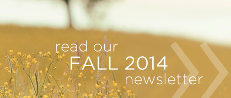 Read our Fall Newsletter