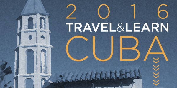 Cuba Travel & Learn 2016